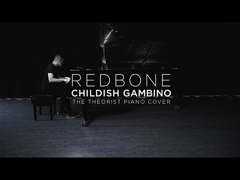 Childish Gambino - Redbone  The Theorist Piano Cover