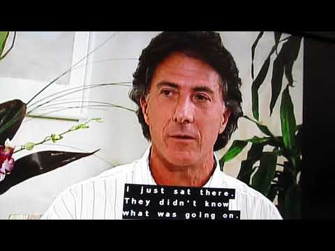 Dustin Hoffman talks about pinching Katharine Ross' butt!