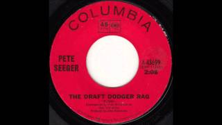Watch Pete Seeger Draft Dodger Rag video