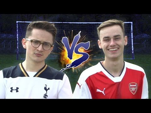 The North London Derby Challenge | Stats vs Football ⚽ (Soccer AM vs Football Daily)