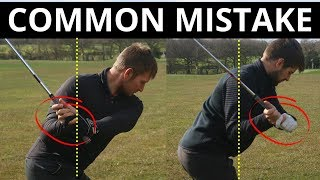 THIS COMMON AMATEUR MISTAKE COULD RUIN YOUR GOLF SWING