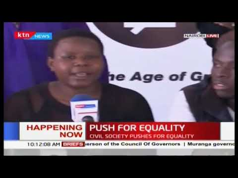 Push for Equality: Civil society push for equality