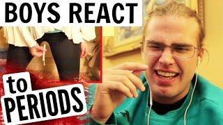 BOYS REACT TO PERIOD VIDEOS!!!