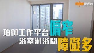 20190111 樓市每日睇﹣新屋入伙:珀御工作平台偏窄 浴室淋浴間障礙多