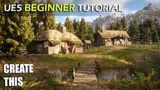 Unreal Engine 5 Beginner Tutorial - UE5 Starter Course!