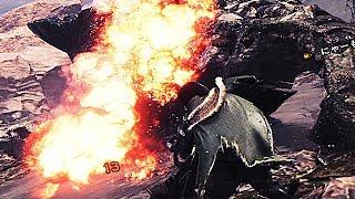 【MHW】ヘヴィボウガンの『機関竜弾』が超絶ぶっ飛んでてワロタ【モンスターハンターワールド】