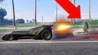 NEW VIGILANTE UPDATE DLC CAR! *BATMOBILE TROLLING!*   GTA 5 Funny Moments