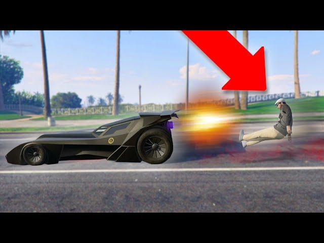 NEW VIGILANTE UPDATE DLC CAR! *BATMOBILE TROLLING!* | GTA 5 Funny Moments