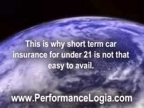 Short Term Car Insurance For Under 21- How to Get It