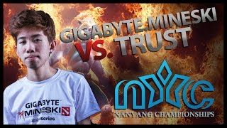 Repeat youtube video [DOTA 2] Kuku's Insane Huskar - GIGABYTE.Mineski vs Trust - (Player's Perspective)