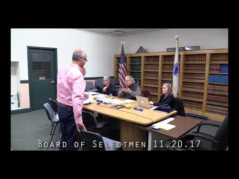 Board of Selectmen 11.20.17