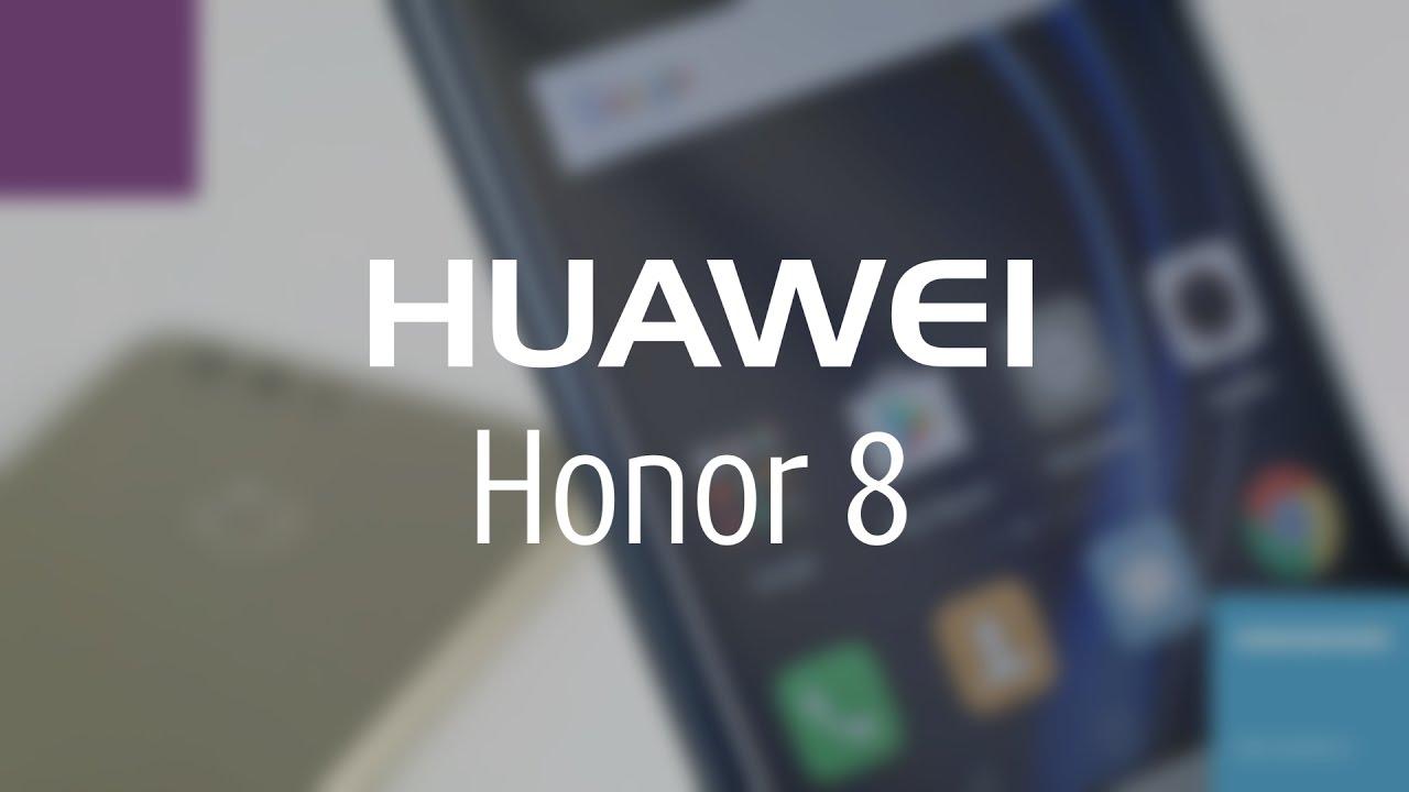 Видеообзор смартфона Huawei Honor 8