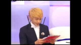 Natthew 나튜 @ News in Royal Residence NBT Channel - 3APR2013