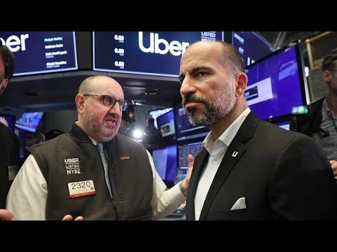 Uber Stumbles in Stock Market Debut, Opens at $42 a Share