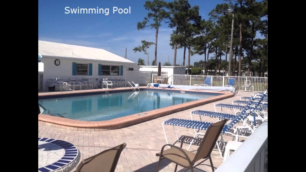 Colonial Manor Mobile Home Park In Venice Fl Youtube