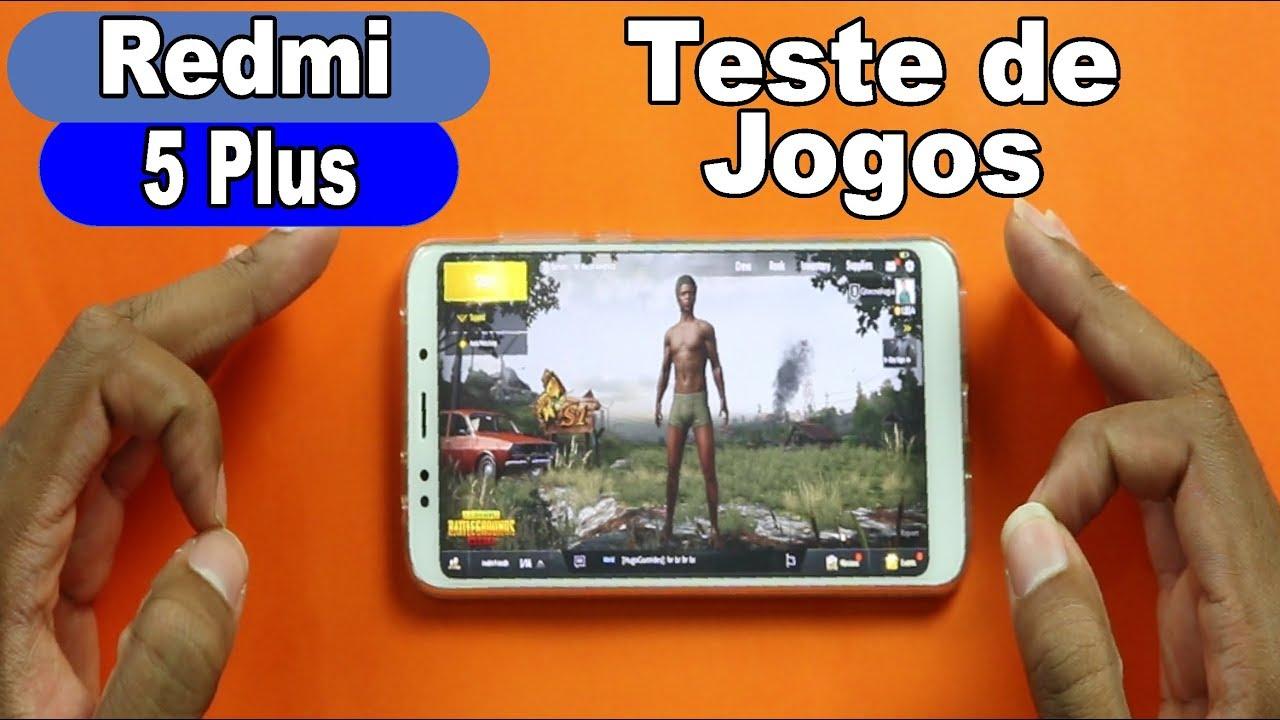 Pubg Wallpaper For Redmi 5: Teste De JOGO No REDMI 5 PLUS! Jogando PUBG MOBILE E