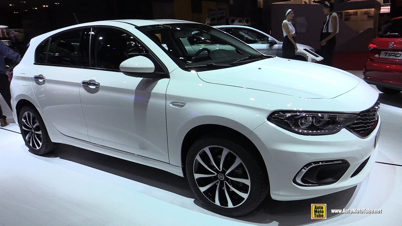 2017 fiat tipo 5 door 1 6 diesel exterior and interior walkaround 2016 paris motor show. Black Bedroom Furniture Sets. Home Design Ideas