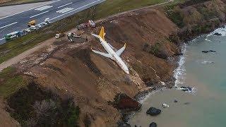 Самолёт в Турции чуть не упал в море (новости)
