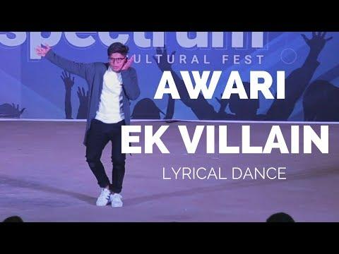 Awari - Ek Villain - Lyrical Dance Performance by Sunil Gowda