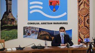 Şedinţa ordinară a Consiliului Judeţean Maramureş din 29.09.2021