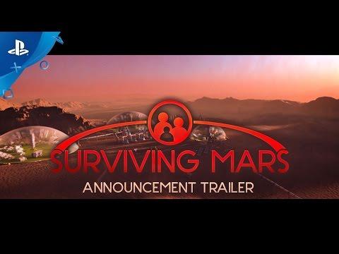 Surviving Mars – Announcement Trailer | PS4