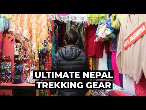 Everest Base Camp Packing List | How To Buy & Rent Trekking Gear In Thamel, Kathmandu