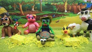 Green Baby in Old MacDonald Had a Farm - Kids Songs & Nursery Rhymes
