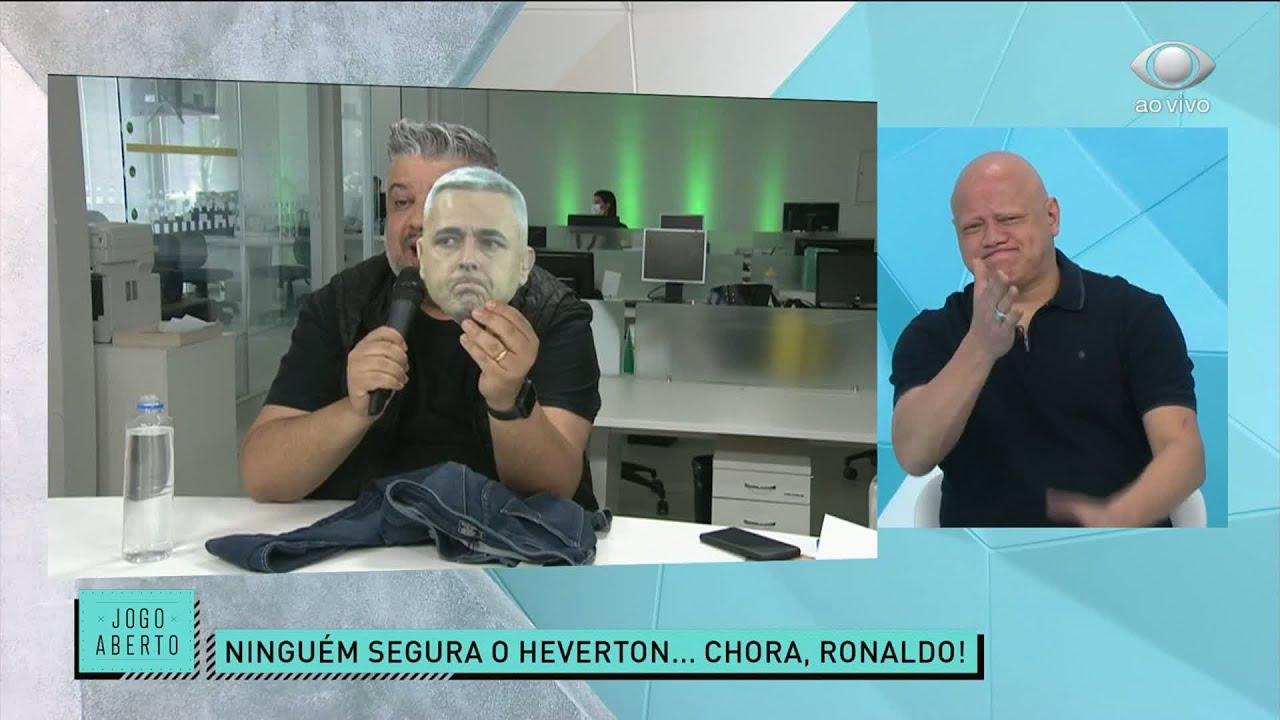 HEVERTON CAPRICHA NA ZOEIRA APÓS VITÓRIA DO GALO | JOGO ABERTO