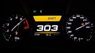 Alfa Romeo Giulia QV 2016 - acceleration 0-303 km/h, top speed test and more