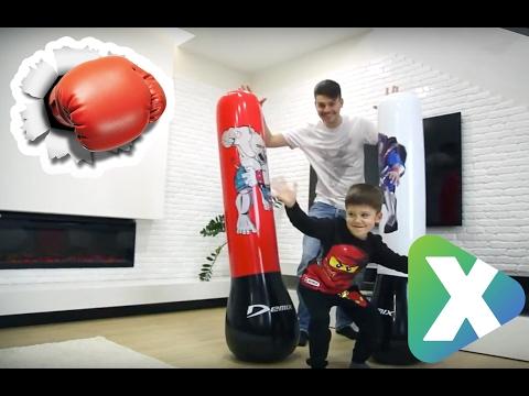 Боксерская скоростная груша своими руками - YouTube