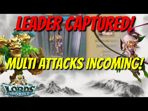 Captured Leader Vs Multiple Attacks! - Lords Mobile