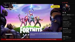 [Broadcast PS4 live Fortnite season 8 new skin marvel star lord ]