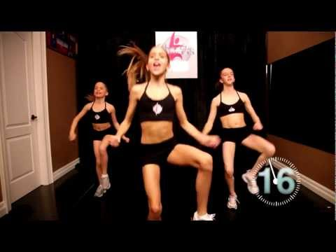 Power Girl Fitness - 20 Minute TOTAL BODY Fitness Workout for Girls
