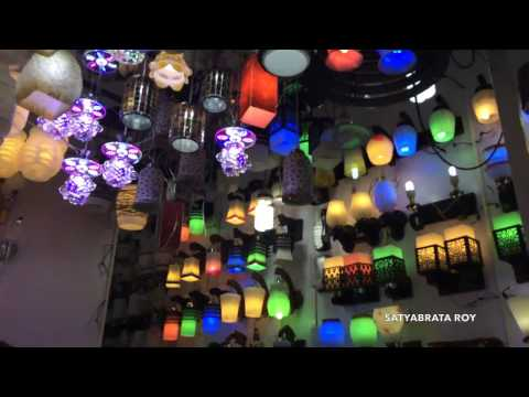 Ezra Street    Largest Light Market in Kolkata