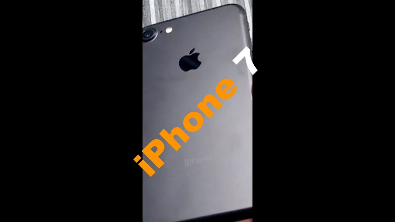 Apple Iphone 7 256 Gb Unboxing Hands On Blindlife Youtube