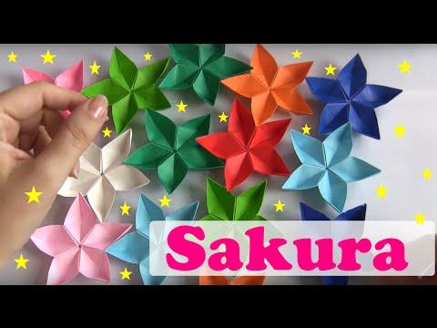 Flor De Origami Sakura
