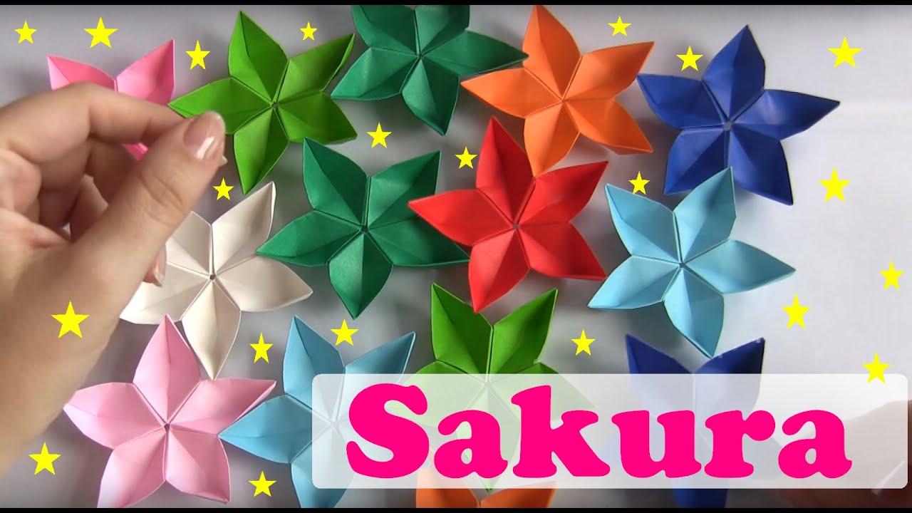 Flor De Lotus Origami Video