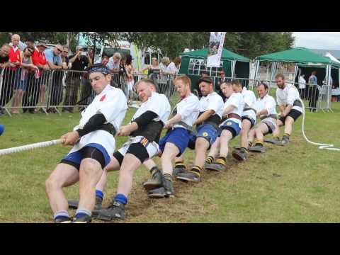 2015 UK Tug of War Championships – Men 600kg Final First End