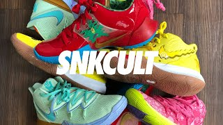 REVIEW BOB ESPONJA X KYRIE IRVING // SNKCULT X ARTWALK