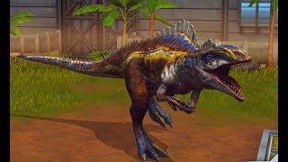 Jurassic World: Das Spiel #182 Acrocanthosaurus Lvl.40!! [60FPS/HD] | Marcel