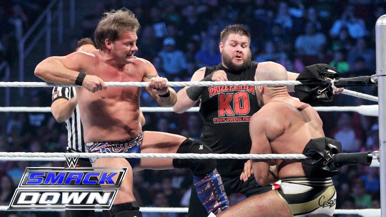 AJ Styles & Cesaro vs Kevin Owens & Chris Jericho SmackDown