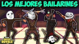 LOS MEJORES BAILARINES DEL MUNDO! - MOMENTOS DIVERTIDOS (Funny Moments) | FORTNITE - PACO TORREAR
