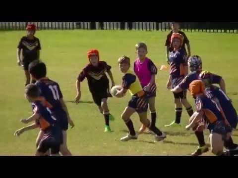 Toongabbie Tigers  V Hills District U10's  Round 10