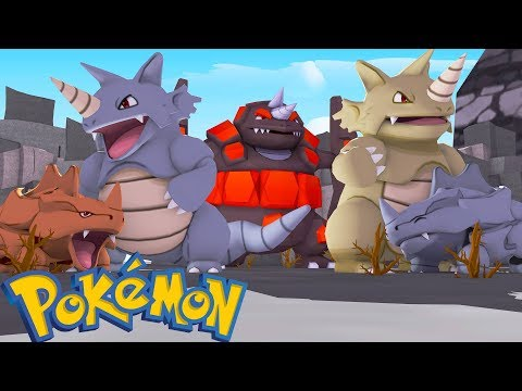 WHO'S YOUR FAMILY? RHYDON, RHYHORN E RHYPERIOR SHINY NO MINECRAFT ( Pixelmon )