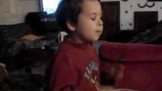 Marlon 5 ans - Batteur Chanteur
