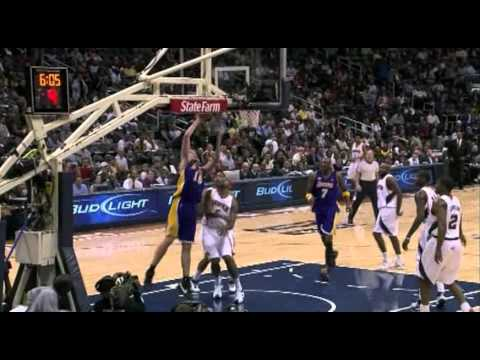 02 06 2008   Lakers vs  Hawks   Pau Gasol Highlights 60 FPS