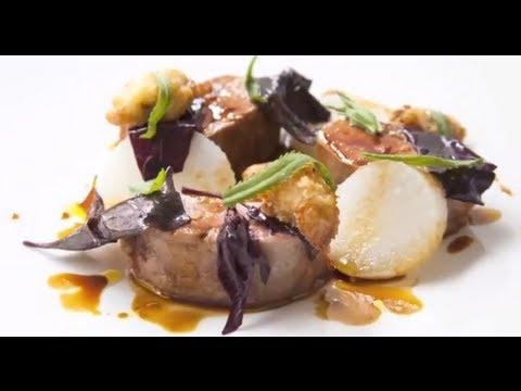2 Michelin Star Chef Simon Rogan's Duck Breast, and scallop recipes