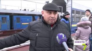 Новая ж/д услуга в Одессе: в Днепропетровск и обратно со своим авто(, 2016-01-28T14:48:33.000Z)