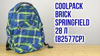 Розпакування CoolPack Brick Springfield 44 x 32.5 x 18 см 28 л 82577CP