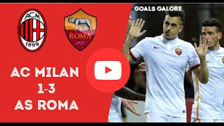 AC Milan vs AS Roma 1-3 Highlights May 2016
